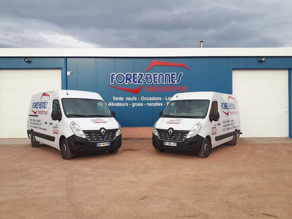 camions dépannage maintence forez bennes manutention roanne