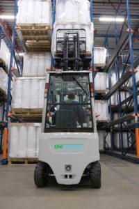QX2 Unicarriers - Frontal électrique quatre roues