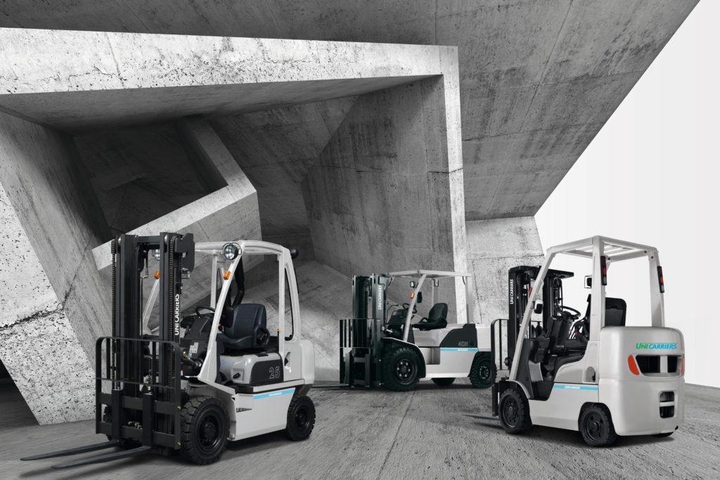 chariot élévateur gaz et diesel Unicarriers