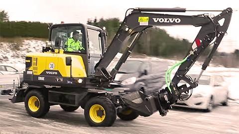 pelle TP compacte Volvo
